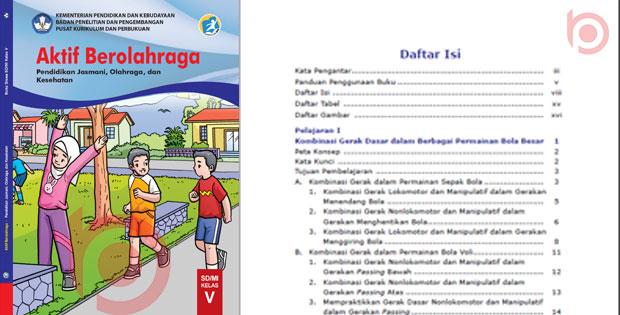 Materi PJOK Kelas 5 Kurikulum 2013 Revisi 2019