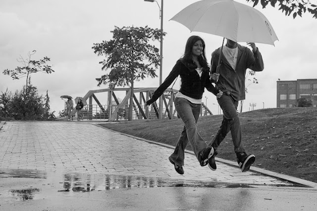 Bogota lluvioso
