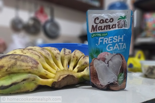 Coco Mama Fresh Gata, recipes, pinoy recipes, pinoy merienda, merienda recipes, snack recipes,