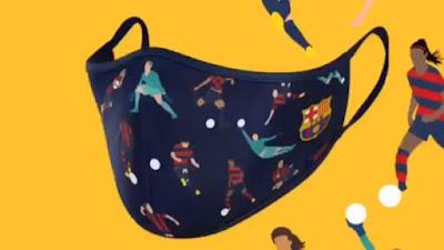 Klub Bola Jualan Masker, Produk Barcelona Termahal
