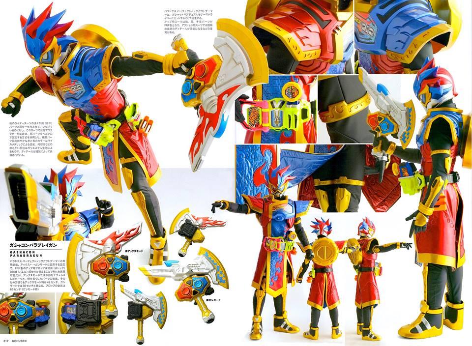 Harits Tokusatsu: Detail Of Heroes Feat. Kamen Rider Para ...