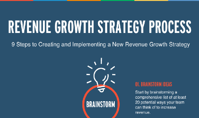 9 Steps to a New Revenue Growth Strategy #infographic