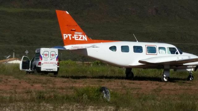 PIATÃ-BA: Prefeitura Consegue através de regulação UTI aérea para paciente  em estado grave