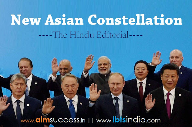 New Asian constellation: The Hindu Editorial