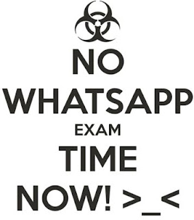 No-whatsapp-its-exam-time