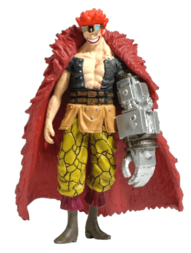 Eustass. Kidd coleccion oficial de figuras de one piece