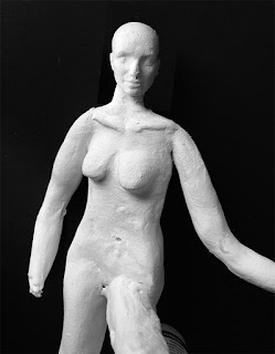 air dry clay figure