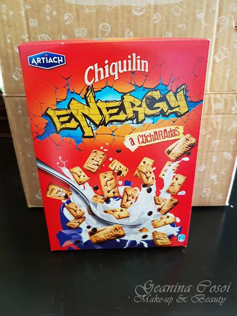 Chiquilin Energy Degustabox Agosto ´17 - Vuelta al cole y al trabajo