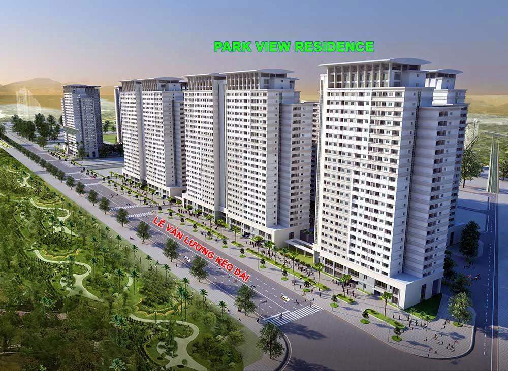 Phối cảnh chung cư Park View Residence Dương Nội