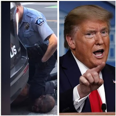 President Trump Reacts To The Death Of George Floyd By The Minneapolis Police Officers
