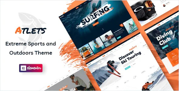 Best Extreme and Outdoors WordPress Theme