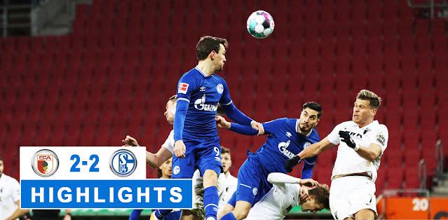 Augsburg vs Schalke 04 – Highlights
