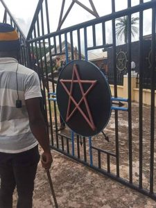 Church of Satan demolished in Nigeria and the leader arrested