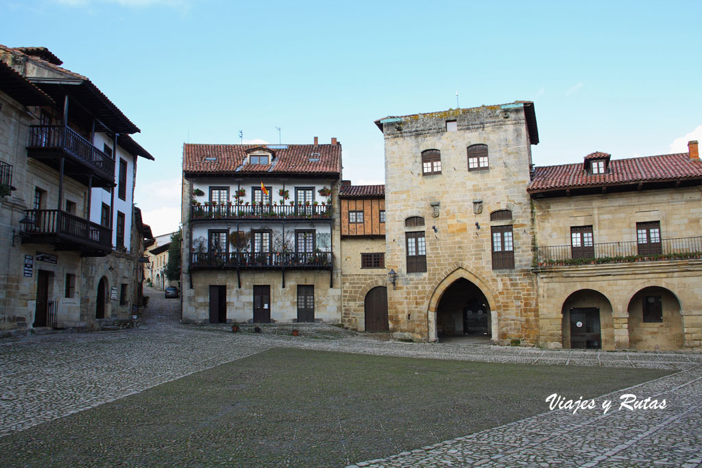Plaza Mayor de Santillana del Mar