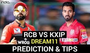 KXIP vs RCB Dream11 Team / KXIP vs RCB dream11 Winning Teams