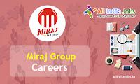 Miraj Group Recruitment
