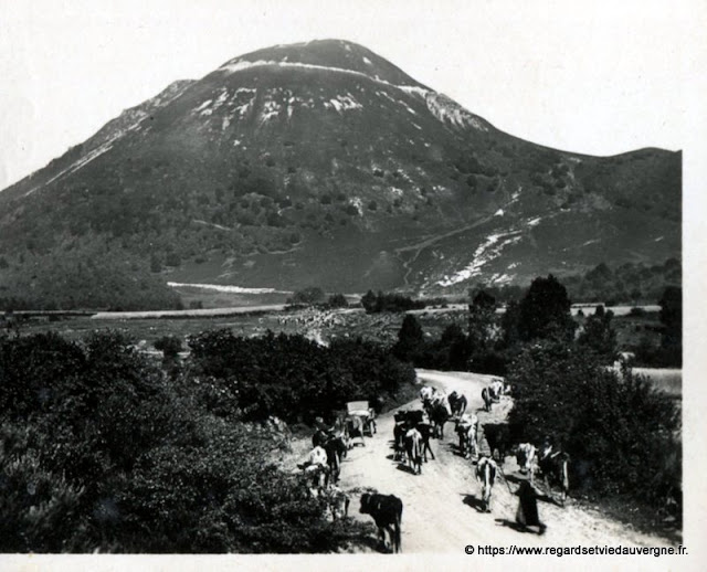 Photo ancienne de Clermont-Ferrand  le Puy-de-Dôme