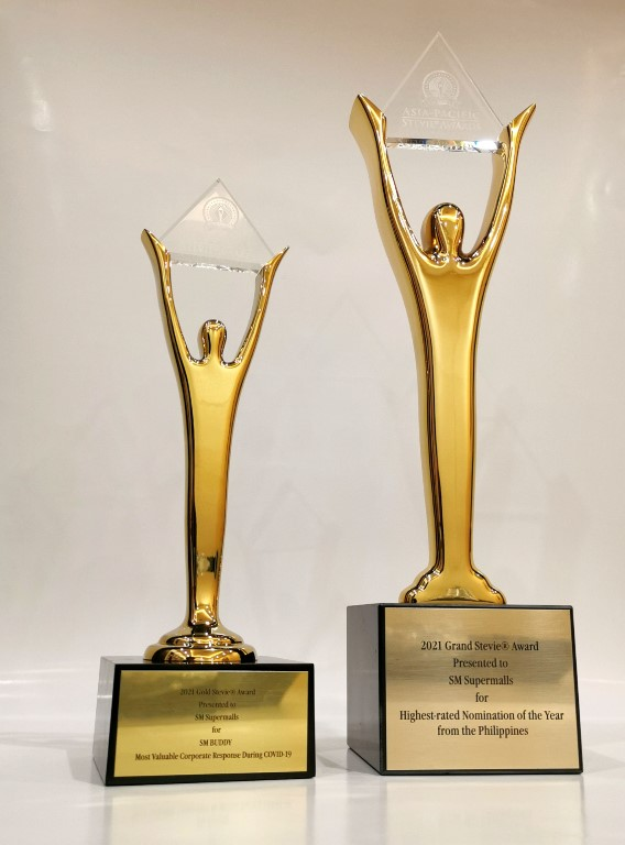 SM BUDDY CAMPAIGN BAGS GRAND ACCOLADES AT 2021 ASIA PACIFIC STEVIE AWARDS