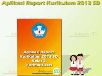 Aplikasi Raport Kurikulum 2013 SD Kelas 2 Format Excel