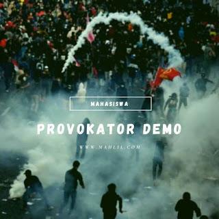 Provokator Demo di Indonesia