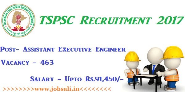 TSPSC Engineer jobs, TSPSC Egineer Recruitment, egineering jobs in India