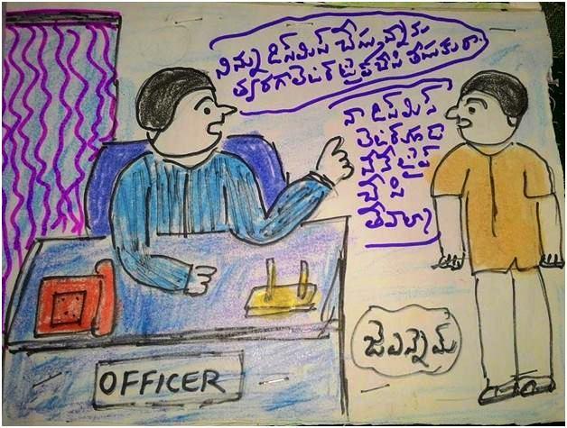 కార్టూన్లు - నరసింహ మూర్తిజె.ఎల్. నరసింహం, తెలుగు బొమ్మ