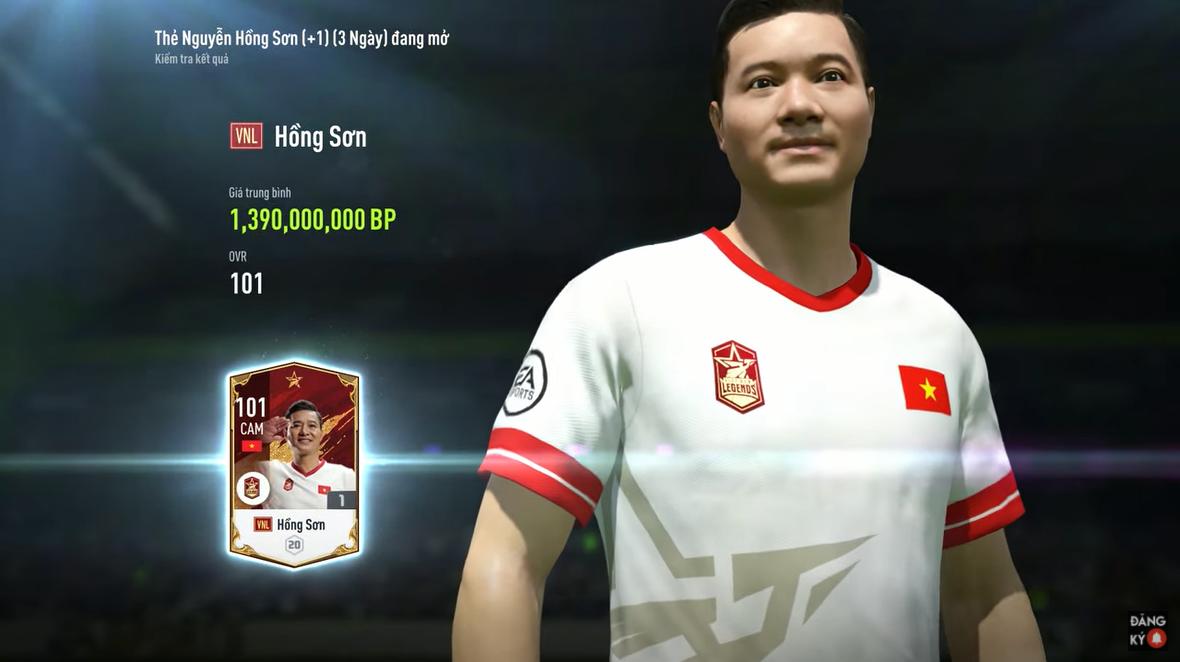 """FIFA ONLINE 4   Sơn """"công chúa"""" - Review cựu tiền vệ Nguyễn Hồng Sơn Việt Nam Legends ⭐⭐⭐⭐"""