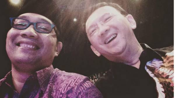 """Ahok dan Ridwan Kamil ini Sejenis: Selalu Pakai Isu SARA demi Popularitas"""