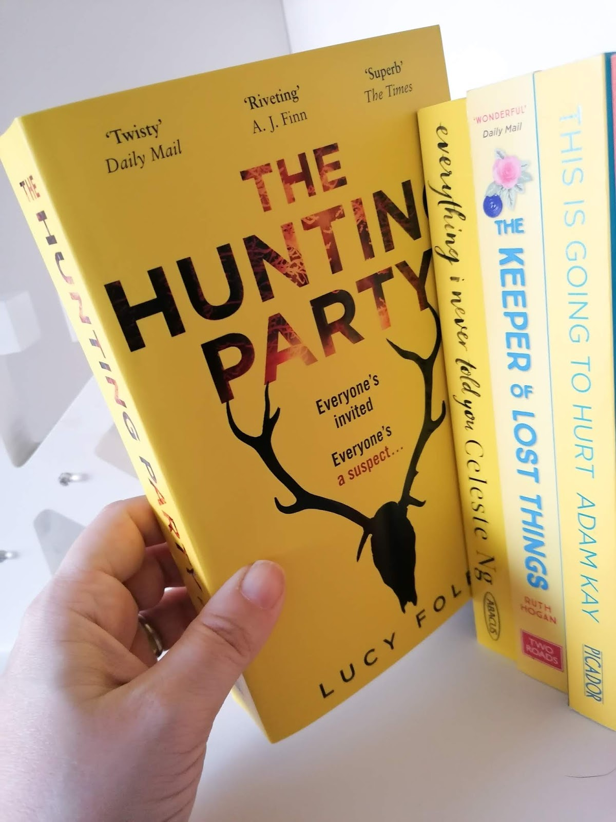 Book review - The Hunting Party - Lucy Foley