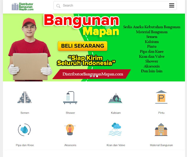 Distributor Bahan Bangunan - WA 0821-1000-5822