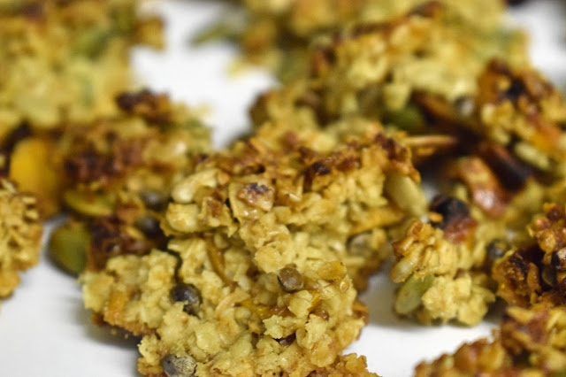 Baking with Crazy Jack Organics mango and nut cereal bars
