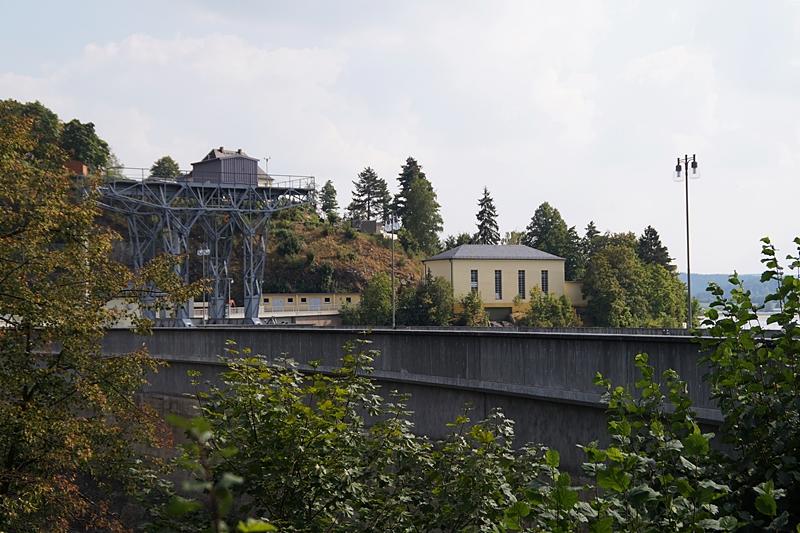 Staudamm Pumpspeicherkraftwerk Wisenta, Thüringen