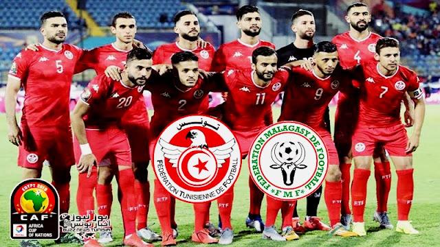 كأس أمم إفريقيا مصر 2019 : التشكيلة الرسمية للمنتخب الوطني التونسي نسور قرطاج أمام مدغشقر