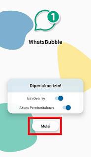 Cara Membuat Bubble Chat Whatsapp Menggunakan WhatsBubble