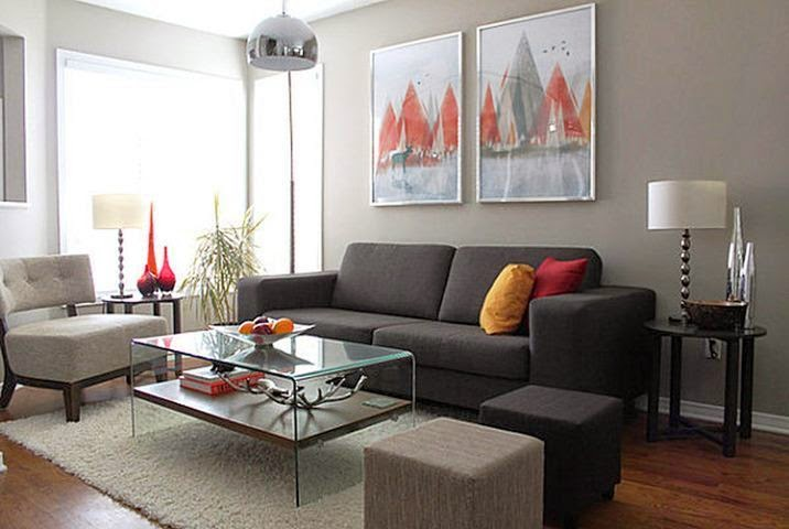 Neutral Wall Paint Color for Living Room