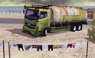 Mod Truck Hino 500 Tangki CPO