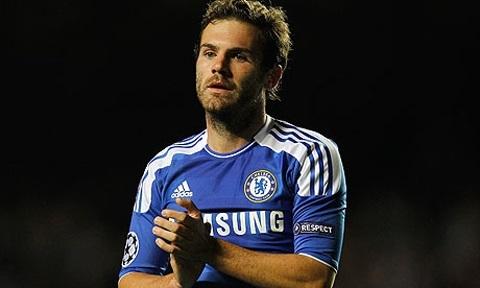 Juan Mata luôn thể hiện phong độ ổn định ấn tượng