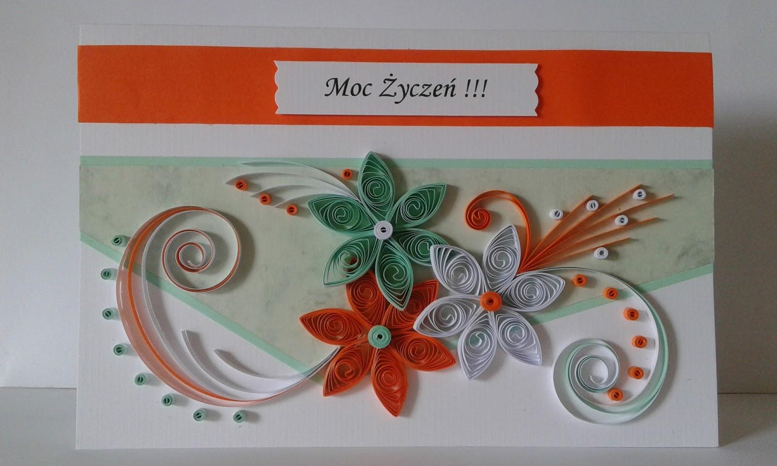 kolorowe pomys u0142y  kartki urodzinowe
