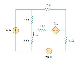 superposition theorem electric circuit analysis