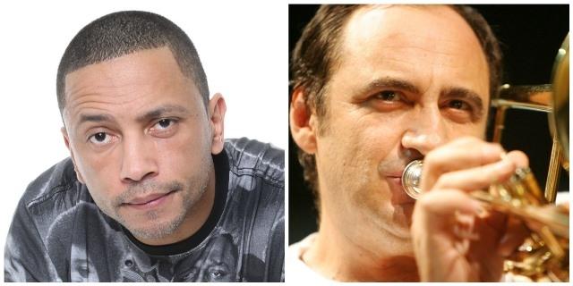 DJ CIA e Bocato se encontram no palco do Sesc Vila Mariana
