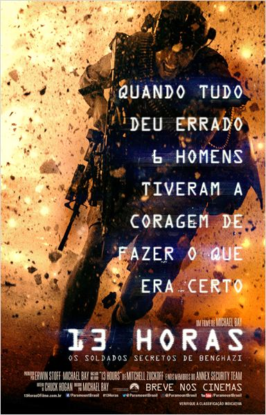 13 Horas: Os Soldados Secretos de Benghazi Dublado Brasileiro