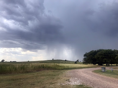 Thunderstorms A Coming  (Texas Route 66 RV Park)