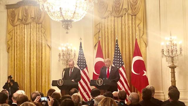 Ερντογάν: Επέστρεψα το γράμμα στον Τραμπ