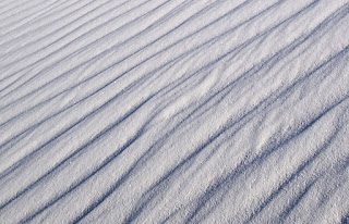 white desert sands