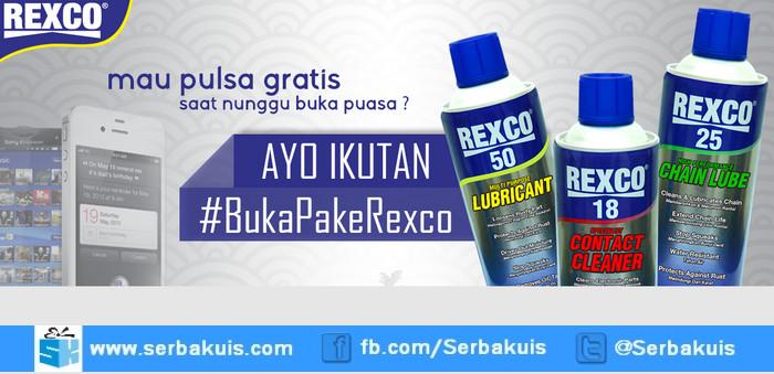 Kuis Buka Pake Rexco Berhadiah Pulsa 100K Setiap Hari