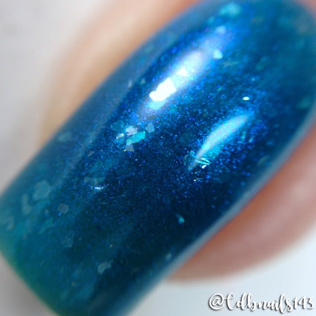 Sassy Pants Polish-Anything But Blue In Hawaii