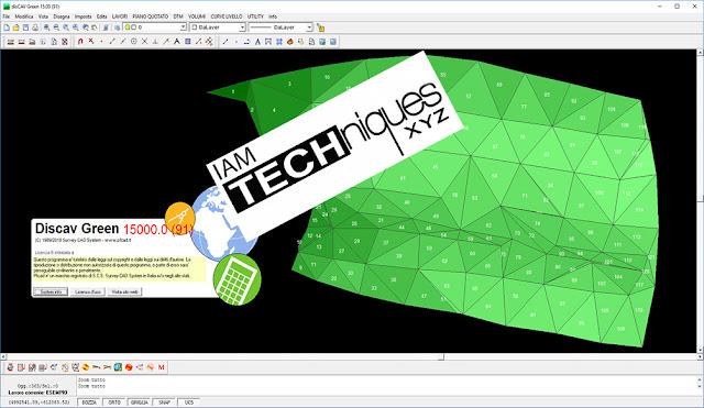 Survey CAD System pfCAD disCAV Green v15.00