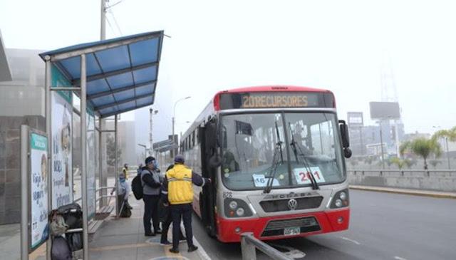 Corredores complementarios, buses dejan de circular por falta de subsidio
