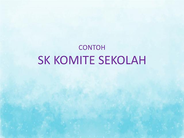CONTOH SK KOMITE