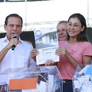 Doria anuncia mais de R$ 130 mi em ações nos municípios do programa Vale do Futuro